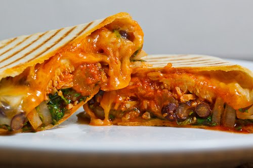 Pineapple Dak Bulgogi Burrito (Korean Spicy Pineapple BBQ Chicken Burrito)