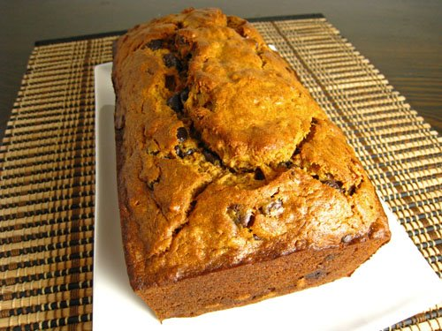 Curried Chocolate Chip Banana Bread