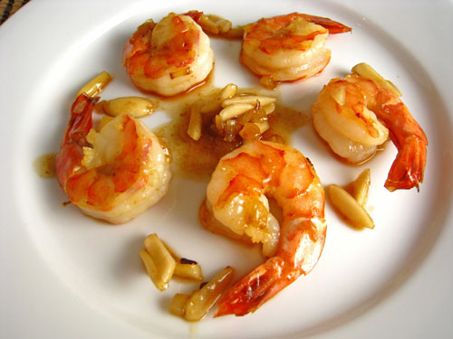 Amaretto Shrimp