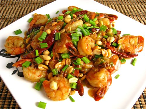 Shrimp Kung Pao