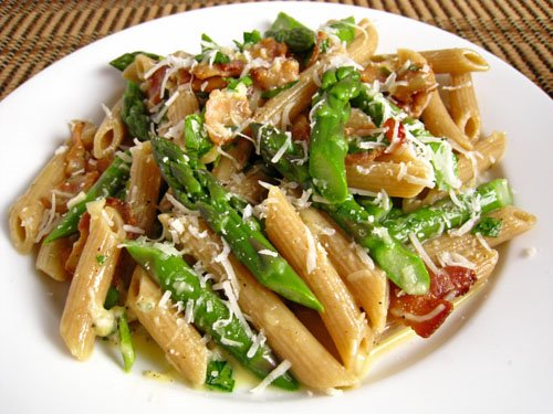 Asparagus Carbonara