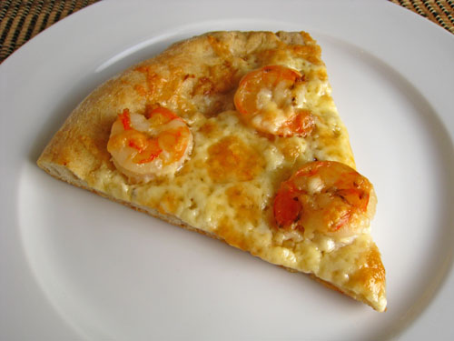 Shrimp Scampi Pizza