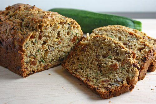 Zucchini Bread, Sliced Loaf
