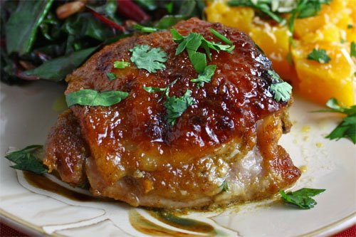 Curried Honey Dijon Roasted Chicken