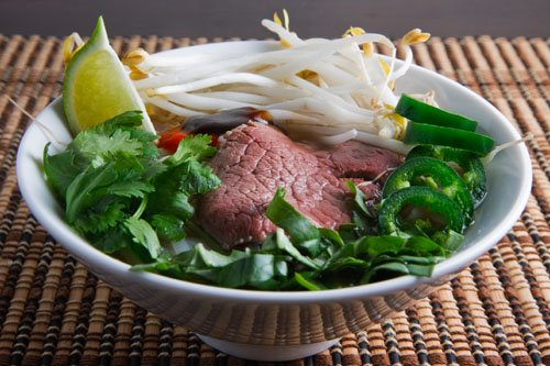 Pho Bo (Vietnamese Beef Noodle Soup)