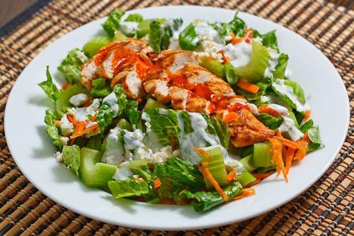 Buffalo Chicken Salad on Closet Cooking