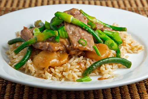 Beef and Garlic Scape Stir-fry