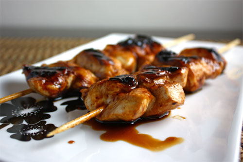honey chicken yakitori sauce with chicken yakitori with honey sauce ...