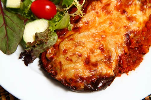 Eggplant Parmesan (Melanzane alla Parmigiana) on Closet Cooking