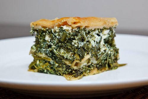 Spinach and Feta Lasagna (aka Spanakopita Lasagna) on Closet Cooking