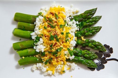 Asparagus Mimosa