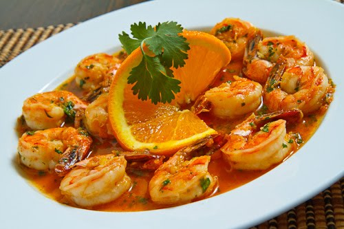 Spicy Orange Shrimp on Closet Cooking