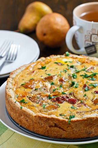 Roasted Sweet Potato, Caramelized Onion, And Gorgonzola Quiche Recipes ...