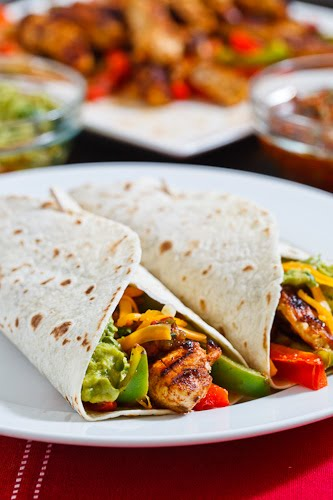 Chicken Fajitas on Closet Cooking