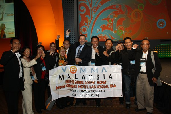 Rakyat Malaysia ke VeMMA Vegas Convention 2010!!