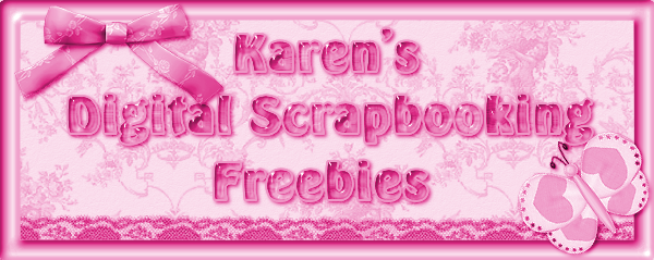 Karen's Digital Scrapbook Freebies