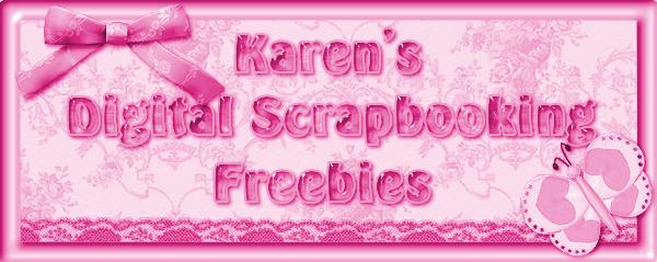 Karen's Digital Scrapbook Freebies