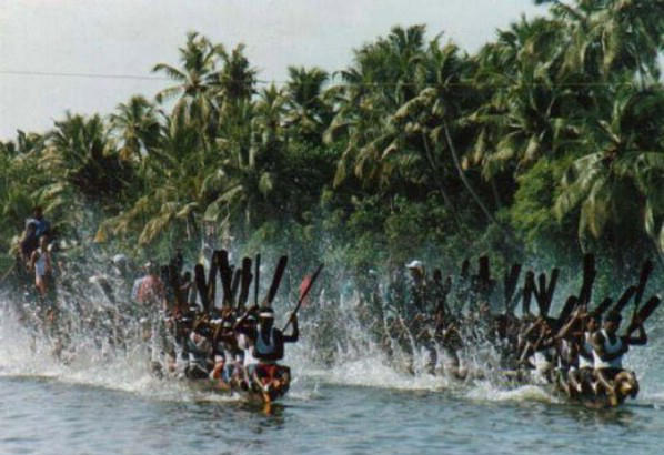 Snake Boat Races in Kerala