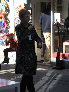 Frances Keevil at auction for Advocates for Survivors of Child Abuse
