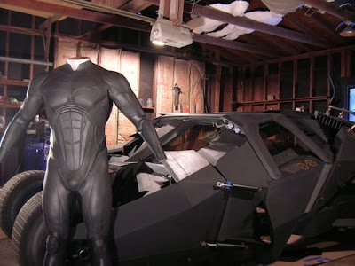 Bob Dullam, Batman suit, Batpod, Replicas