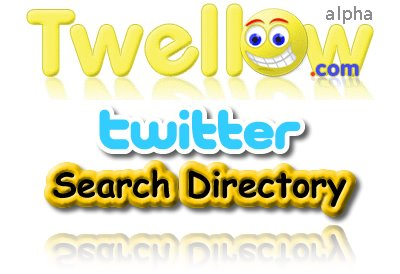 Twellow, Twitter Search Directory, Twitter Search Engine