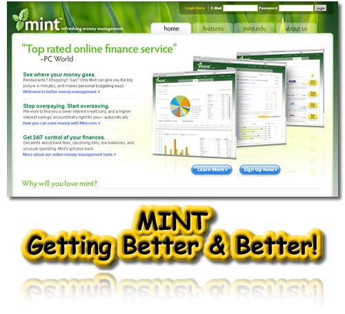 Mint, Online Finance, Money Management