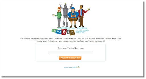 What's your tweet worth?, TwittAd