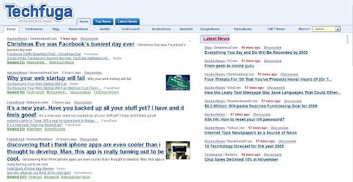 Excellent Tech News Aggregator: Techfuga