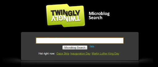 Best Microblog/Micro-blog search engine: Twingly Microblog Search