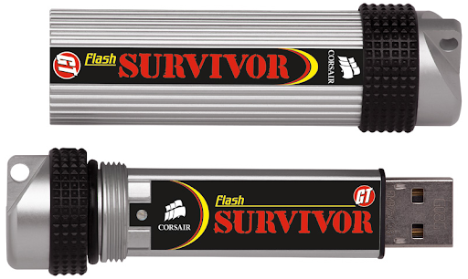 Corsair Flash Survivor - The Toughest USB Flash Drive