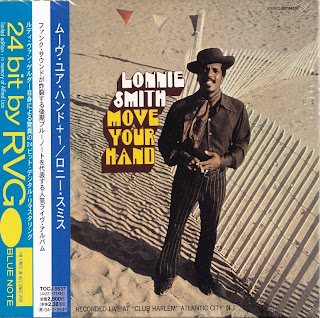 LONNIE SMITH - MOVE YOUR HAND (BLUE NOTE 1969) Jap mastering cardboard sleeve