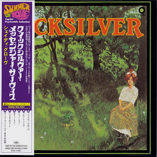 QUICKSILVER MESSENGER SERVICE - SHADY GROVE (CAPITOL 1969) Jap mastering cardboard sleeve