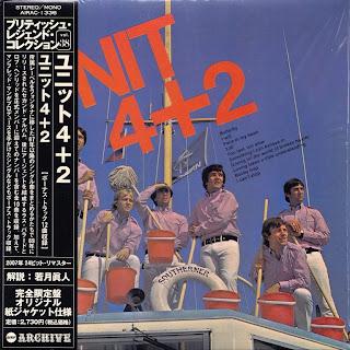 UNIT 4+2 - UNIT 4+2 (FONTANA 1969) Jap mastering cardboard sleeve + 12 bonus