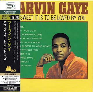 MARVIN GAYE - HOW SWEET IT IS TO BE LOVED BY YOU (TAMLA 1964) Jap mastering cardboard sleeve + 3 bonus