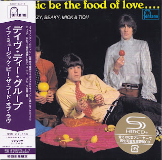 DAVE DEE DOZY BEAKY MICK & TICH - IF MUSIC BE THE FOOD OF LOVE (FONTANA 1966) Jap mastering cardboard sleeve + 13 bonus