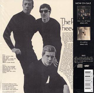 PEDDLERS - FREEWHEELERS (CBS 1967) Jap mastering cardboard sleeve + 3 bonus