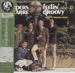HARPERS BIZARRE - FEELIN' GROOVY (WARNER BROS 1967) Jap mastering cardboard sleeve + 2 bonus