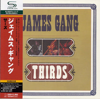 JAMES GANG - THIRDS (ABC 1971) Jap mastering cardboard sleeve