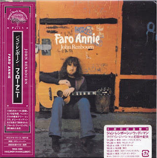 JOHN RENBOURN - FARO ANNIE (TRANSATLANTIC 1971) Jap mastering cardboard sleeve