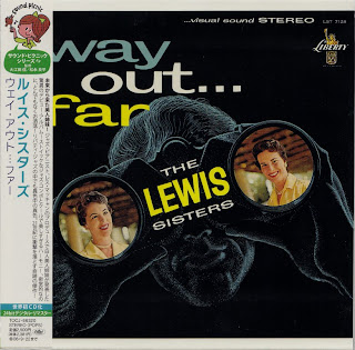 LEWIS SISTERS - WAY OUT...FAR (LIBERTY 1959) Jap mastering cardboard sleeve