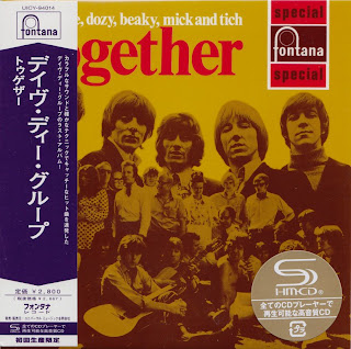 DAVE DEE, DOZY, BEAKY, MICK & TICH - TOGETHER (FONTANA 1969) Jap mastering cardboard sleeve + 14 bonus