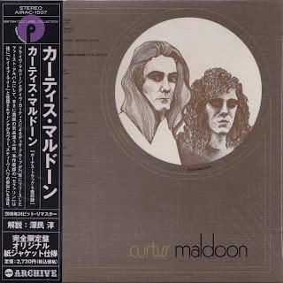 CURTISS MALDOON - CURTISS MALDOON (PURPLE 1971) Jap mastering cardboard sleeve + 4 bonus