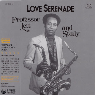 PROFESSOR LETT AND STUDY - LOVE SERENADE (BEANTOWN 1978) Jap mastering cardboard sleeve