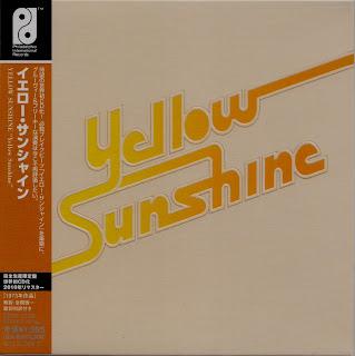 YELLOW SUNSHINE - YELLOW SUNSHINE (GAMBLE 1973) Jap mastering cardboard sleeve