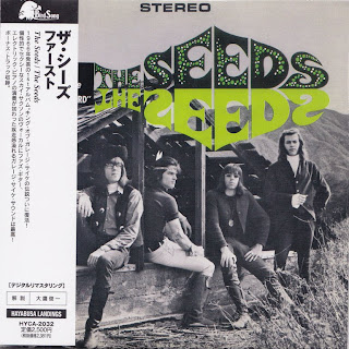 THE SEEDS - THE SEEDS (GNP-CRESCENDO 1966) Jap mastering cardboard sleeve + 1 bonus