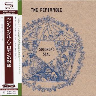 PENTAGLE - SOLOMON'S SEAL (REPRISE 1972) Jap DSD mastering cardboard sleeve