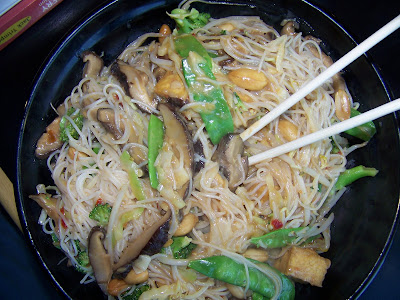 Vegan, San Antonio, Fire Bowl Cafe, Vermicelli Noodles