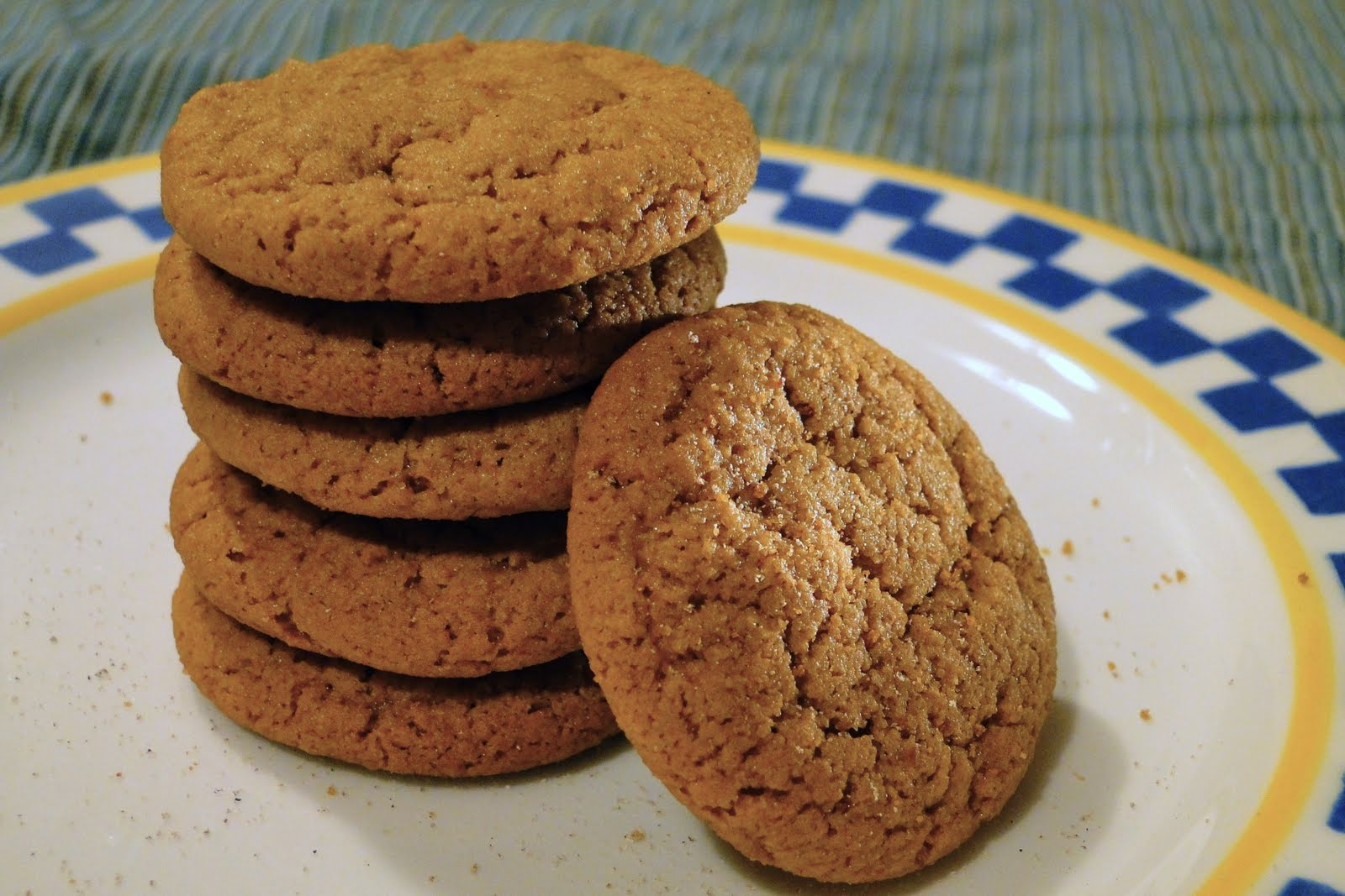 Beach Eats: The Joy of Cooking: Gingersnaps