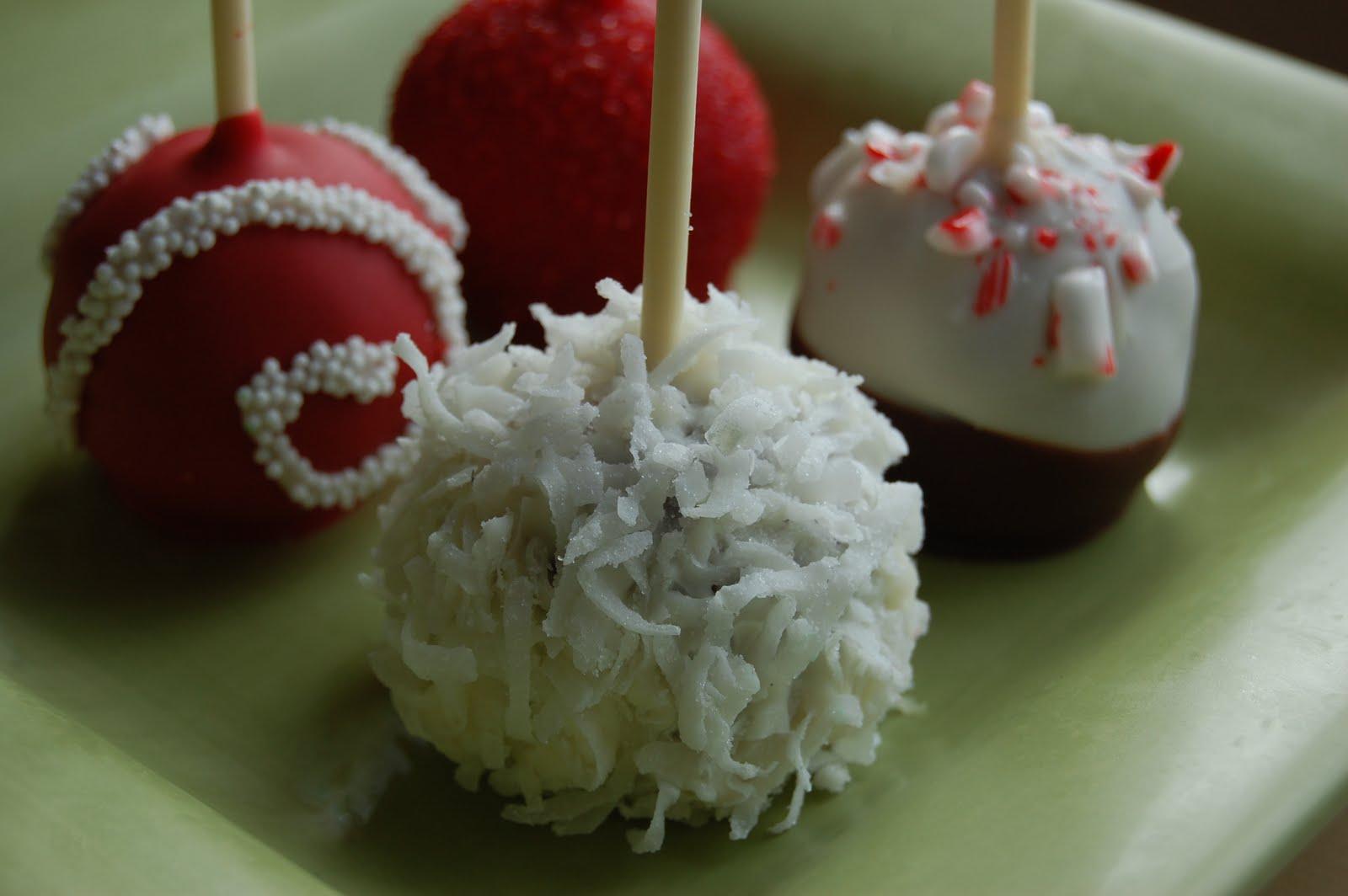 christmas cake balls ideas