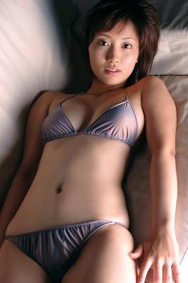 Mai Harada Cute Bikini Asian Girl Model